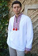 Мужская рубашка с вышивкой М04-112, фото 1
