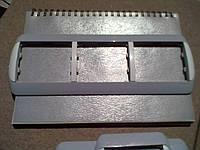 Legrand Galea 777163 рамка 3-я горизонтальная серая.