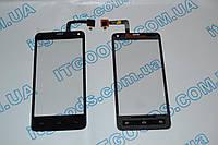 Оригинальный тачскрин  / сенсор (сенсорное стекло) для Fly IQ4416 (черный цвет) + СКОТЧ В ПОДАРОК