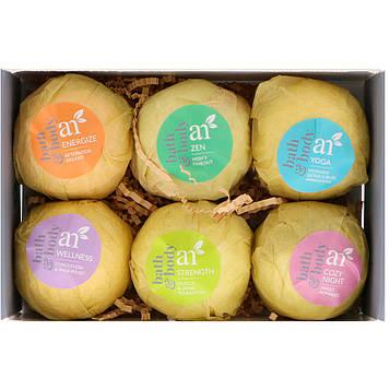 Artnaturals, Бомбочки для ванны, 6 бомбочек, 4 унц. (113 г) каждая