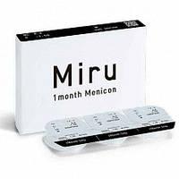 Контаткные линзы Miru 1 month