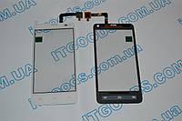 Оригинальный тачскрин / сенсор (сенсорное стекло) для Fly IQ4416 (белый цвет, самоклейка)