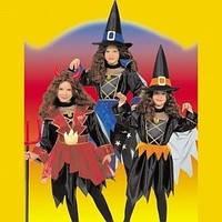 Прокат костюма Костюм 3 в 1: Ведьмочка, Чертенок, Колдунья