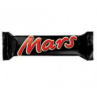 Батончик MARS з нугою та карамеллю 51г маленький (1/40)
