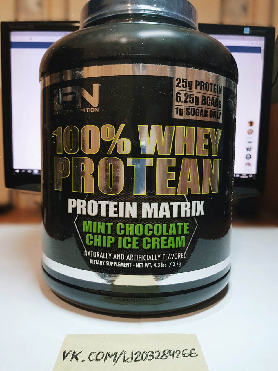 Протеин, iForce Nutrition 100% Whey Protean 2000г