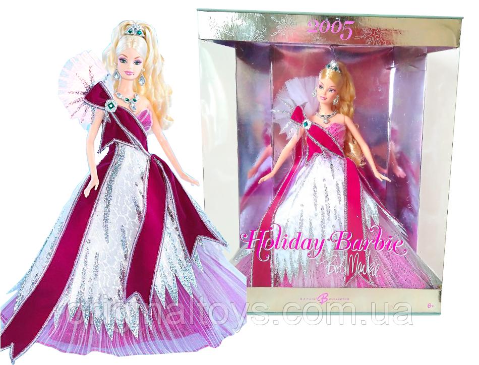 Коллекционная кукла Барби 2005 Holiday Barbie by Bob Mackie Mattel G8058