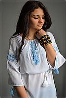 Вышиванка женская. Ткань –шифон