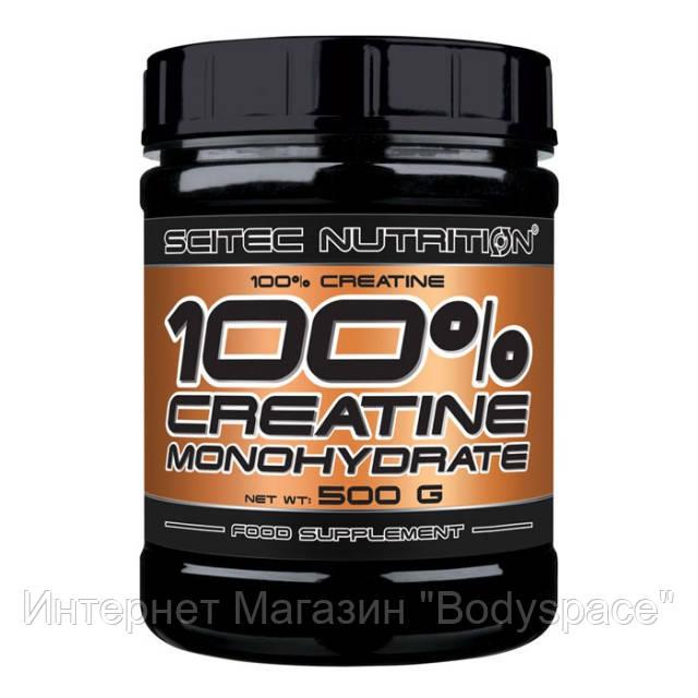 Scitec Nutrition, Креатин 100% Creatine Monohydrate, 500 грамм