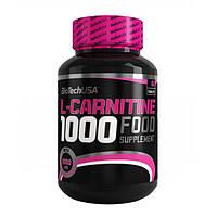 Biotech USA, Карнитин L-Carnitine 1000 mg, 60 таблеток