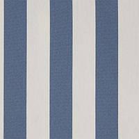 Ткань дралон  в синюю полоску
