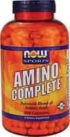 Аминокислоты полный комплекс (пептиды) 360 капс спорт здоровье красота  Now Foods