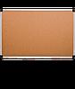 Доска пробковая, в алюминиевой рамке S-line – 1000x650 мм; код – 136510