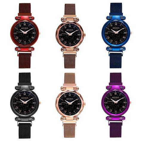 """Женские наручные часы """"Meibo"""" на магнитной застежке (разные цвета), фото 2"""