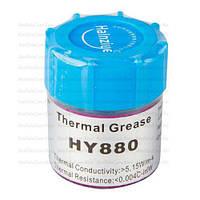 Термопаста nano HY880 Halnziye, серая, 10г, банка, упаковка 40шт