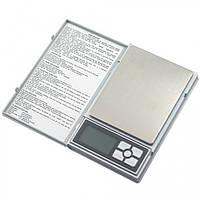 Весы цифровые Notebook 8038(±0.1g/1000g) с функцией счета.