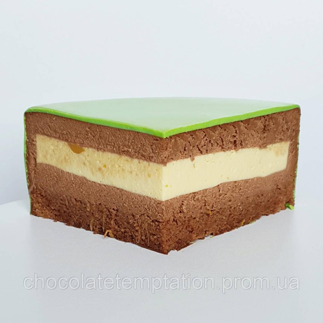 Торт Маракуйя-темный шоколад