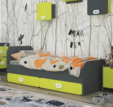 """Детская кровать с ящиками """"Немо"""""""