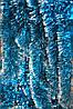 Мишура голубая (серебристый кончик) , длина 1.5м, диаметр 100мм Харьков.