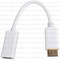 Переходник, штекер Display Port - гнездо HDMI, с кабелем
