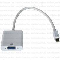 Переходник, штекер mini Display Port - гнездо VGA