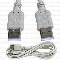Шнур USB, штекер A - штекер А, Vers- 2.0, Ø4.5мм, 2м