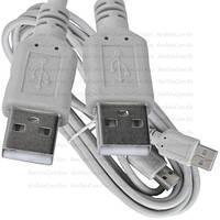 Шнур USB, штекер A - штекер А, version 2.,0, Ø4.5мм, 3м