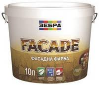 Краска акриловая фасадная FASADE Зебра 2,5Л
