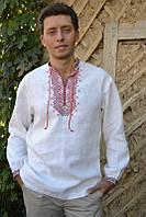 Украинская мужская вышиванка М02-212, фото 1