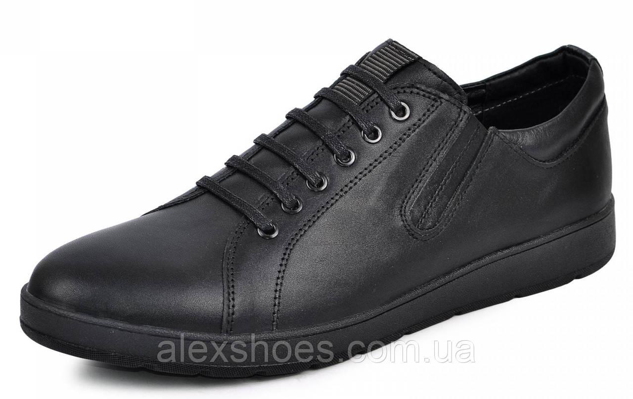 Туфли мужские большого размера из натуральной кожи от производителя модель МАК335