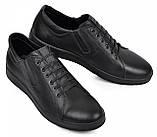 Туфли мужские большого размера из натуральной кожи от производителя модель МАК335, фото 3