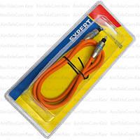 Шнур оптический, toslink plug- toslink plug, Hi-Fi, металл, в блистере,с фильтром, 1м