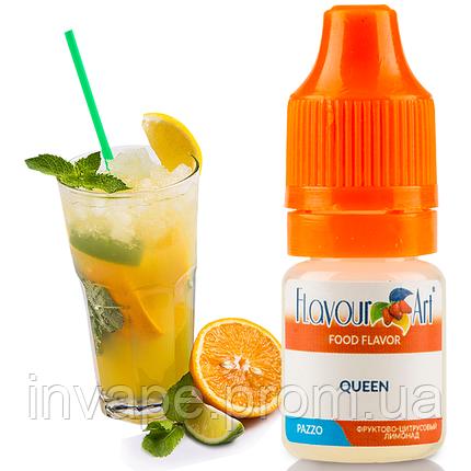 Ароматизатор FlavourArt Queen (Фруктово-цитрусовый лимонад) 5мл, фото 2