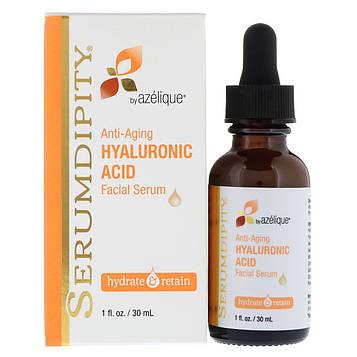 Azelique, Serumdipity, Hyaluronic Acid Facial Serum, Hydrating Skin Care, 1 fl. oz. (30 mL)