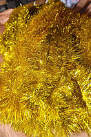 Мишура золотая , длина 1.5м, диаметр 100мм Харьков., фото 1