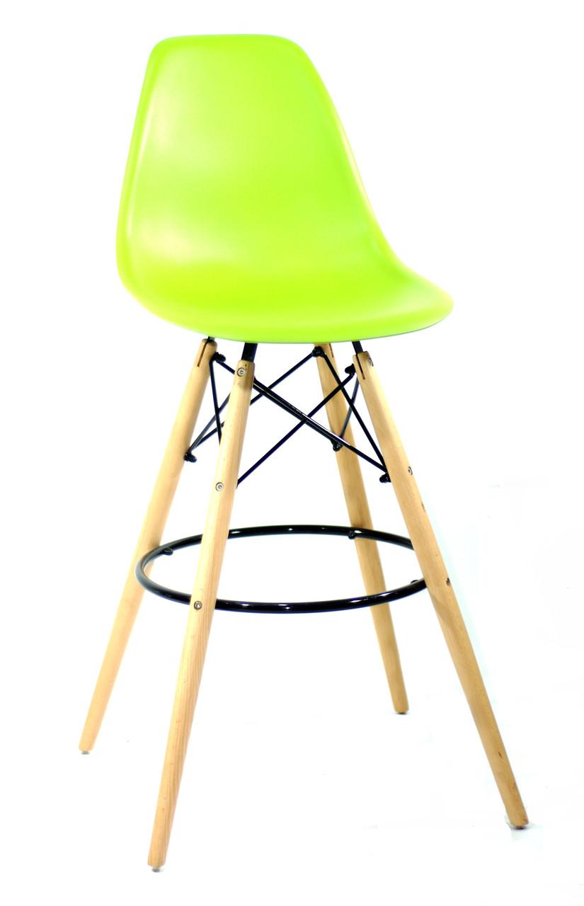 Полубарный стілець Nik Eames, яскраво-зелений