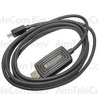 Шнур HDTV 2К, штекер USB type C - штекер HDMI, 2м, в коробке