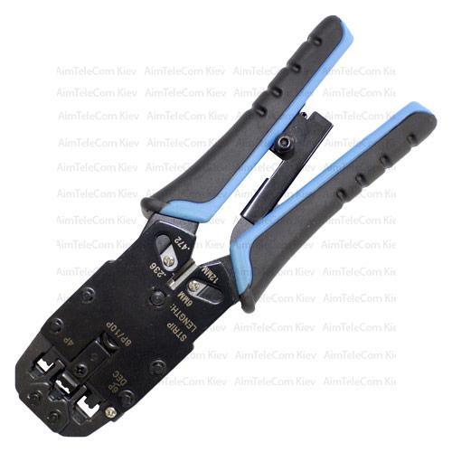 Инструмент HT-200R для обжима 10p10c, 8p8c, 6p6c, 4p4c