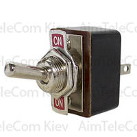 Тумблер KN3-3 ON-ON, 6pin, 3A, 250VAC