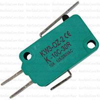 Микропереключатель с лапкой MSW-02 ON-(ON), 3pin, 5A, 125/250VAC