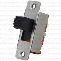 Переключатель движковый KBB40-2P2W ON-ON, 6pin, 0.5A, 250VAC