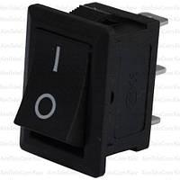 Переключатель MRS-102A (ON-ON), 3pin, 6A, чёрный