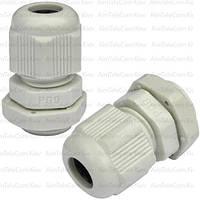 Пластиковый кабельный ввод, 4-8мм, PG-9 (1уп-100шт)