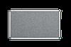 Доска текстильная, в алюминиевой рамке S-line – 1800x1000 мм; код – 151018 (серая)