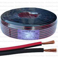 Кабель питания Sound Star, CCA, 2х1,3мм², красно-чёрный, 100м
