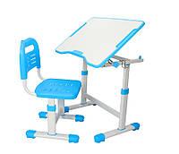 Парта и стульчик FunDesk для школы Sole II Blue