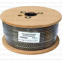 Кабель микрофонный Sound Stream 2 жилы, 20×0.12мм, Cu, Ø6.5мм, сетка, 100м