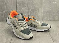 308673568f10ea Мужские кроссовки Adidas Equipment, замша, сетка, пена, серые
