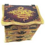 Шкатулка-комод для хранения Китайский мотив, фото 3