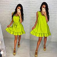 Короткое платье из жаккарда, фото 1