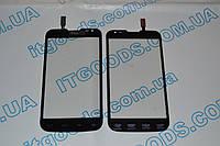 Оригинальный тачскрин / сенсор (сенсорное стекло) для LG Optimus L70 Dual SIM D325 (черный цвет) + СКОТЧ